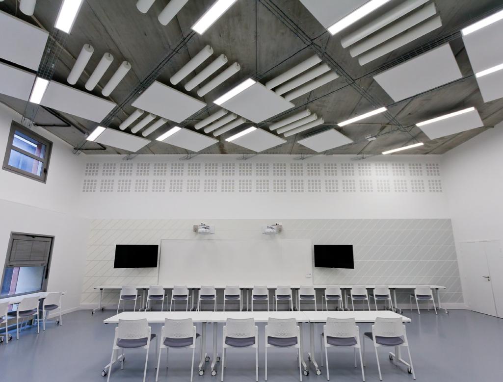 spacing plafonds